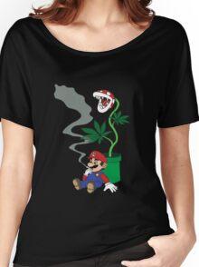 Super Pothead Mario Women's Relaxed Fit T-Shirt