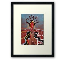 The Secrets Of Mother Earth Framed Print