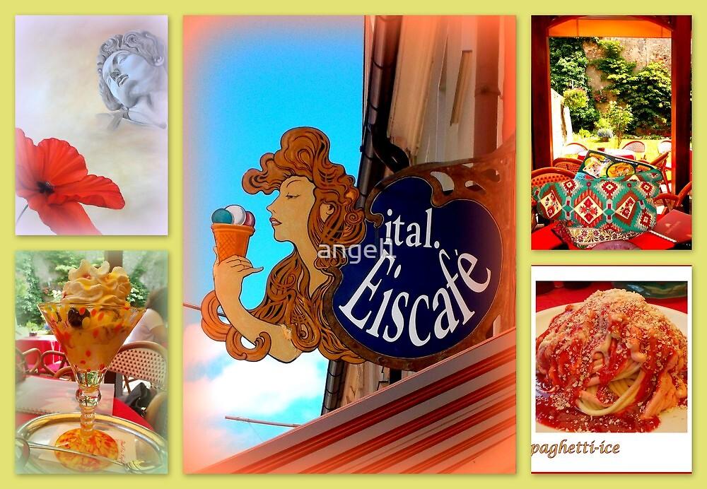 Italian Eiscafé in Füssen by ©The Creative  Minds