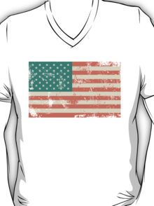 Grungy US flag T-Shirt