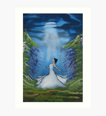 """Dance of the Beloved""  by Carter L. Shepard Art Print"