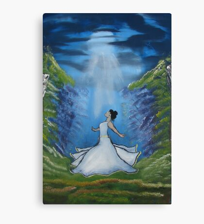 """""""Dance of the Beloved""""  by Carter L. Shepard Canvas Print"""