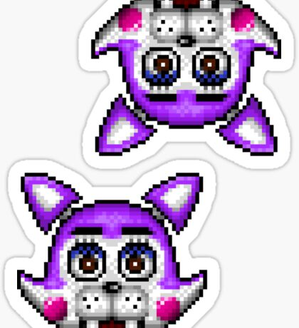 Five Nights at Candy's - Pixel art - Cindy the Kitty Sticker