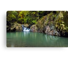 The Cascades of Mt Cougal Canvas Print
