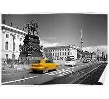 Unter den Linden, Berlin Poster