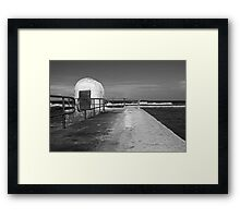 Merewether Baths pumphouse Framed Print