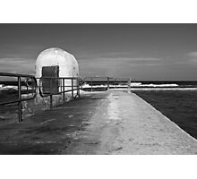 Merewether Baths pumphouse Photographic Print