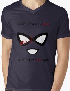 Find what you love... Mens V-Neck T-Shirt