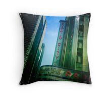 Radio City NewYork Throw Pillow