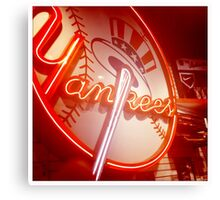 Yankees New York Canvas Print