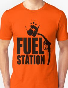 FuelStation with Handprint (black) T-Shirt