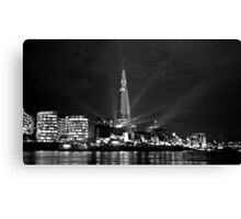 The Shard at Night Canvas Print