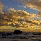 As the sun drops - Redgate, Western Australia by Karen Stackpole