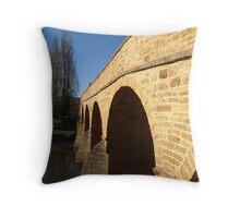 Richmond Bridge Hobart Throw Pillow