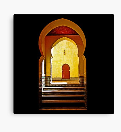 The Way to Mecca Canvas Print