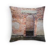 Port Arthur Historic Buildings Throw Pillow