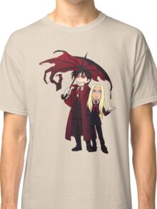 Hellsing and Alucard - Cartoon Style Classic T-Shirt