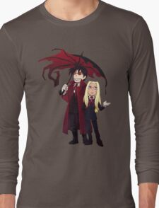 Hellsing and Alucard - Cartoon Style Long Sleeve T-Shirt