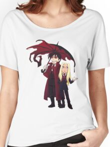 Hellsing and Alucard - Cartoon Style Women's Relaxed Fit T-Shirt