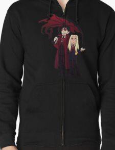 Hellsing and Alucard - Cartoon Style T-Shirt