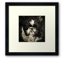 Real Character Framed Print
