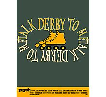 Psych - Talk Derby To Me Photographic Print