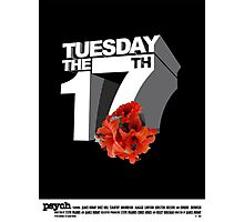 Psych - Tuesday the 17th Photographic Print