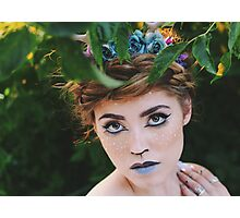 Fawn Shoot Photographic Print