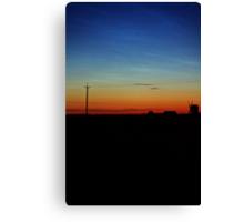 Hiiumaa, Sunset. Canvas Print