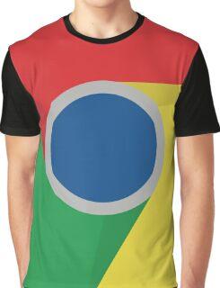 Google Chrome Logo Graphic T-Shirt