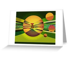 The Games Greeting Card