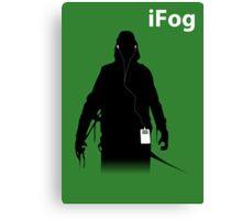 iFog Canvas Print