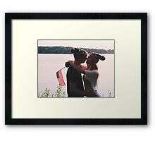 Fourth of July Shoot Framed Print