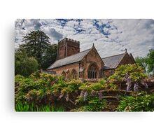 All Saints, Church, Somerset Canvas Print