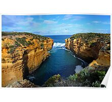 Entrance To Thunder Cave. Port Campbell National Park, Vic, Australia. Poster