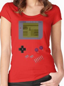 Pokemon Yellow Game Boy Women's Fitted Scoop T-Shirt