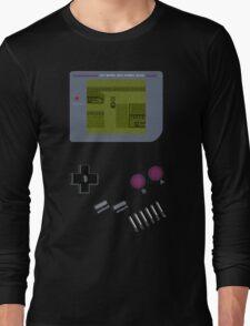 Pokemon Yellow Game Boy Long Sleeve T-Shirt
