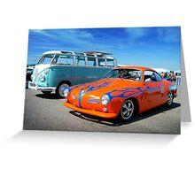 Hot Ghia Greeting Card