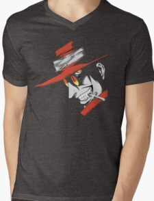 Hellsing - Alucard Face Mens V-Neck T-Shirt