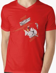 Hellsing - Alucard Face Mens V-Neck T-Shirt