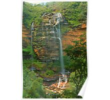 Wentworth Falls .. the first drop Poster