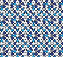 Blue Pennies by LightPopArt