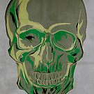 Green skull by SixPixeldesign