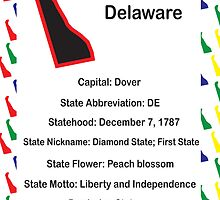 Delaware Information Educational by ValeriesGallery