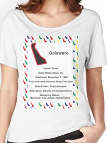 Delaware Information Educational Women's Relaxed Fit T-Shirt