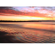 Before Sunrise at First Beach  Photographic Print