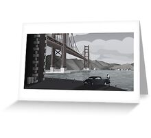Frisco Bay Greeting Card