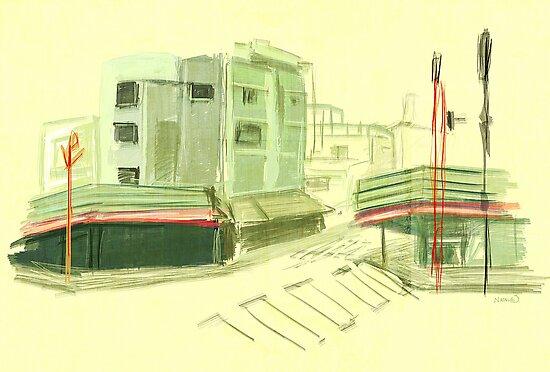 Asakusa Green by natalienoodles
