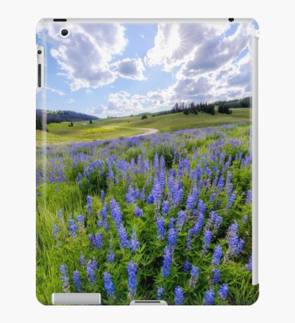 Lupine Pass iPad Case/Skin