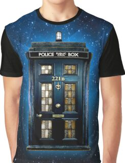 Space Traveller Box with 221b number Graphic T-Shirt